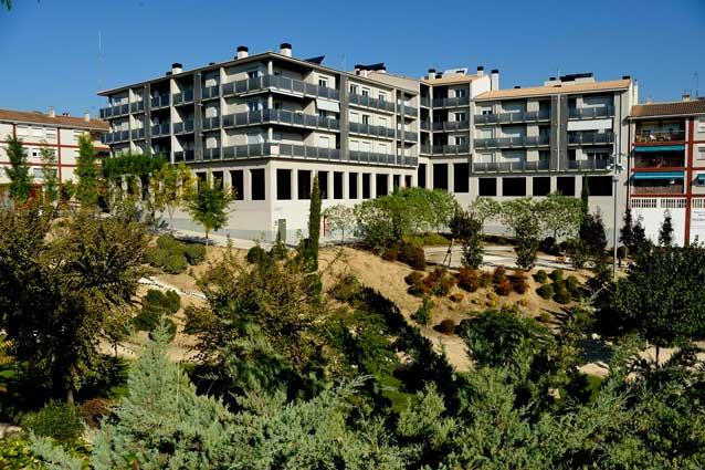 Promoción Santa Barbara fachada exterior