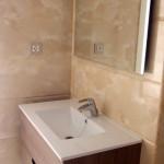 Viviendas calle Madrid en Barbastro - Detalle baño